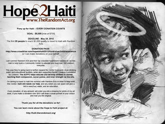 Hope to Haiti 2012 by robbiedraws