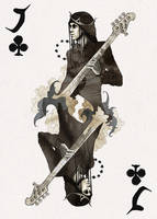 D'espairsRay Deck - Jack of Clubs by robbiedraws
