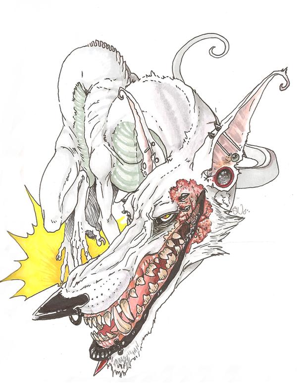 Smile you fucker by dragon-shark