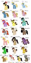 My Little Disney Ladies by oblivionskeeper