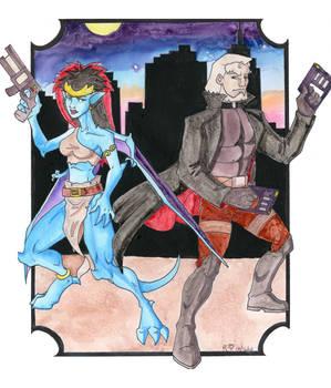 Demona and Macbeth present