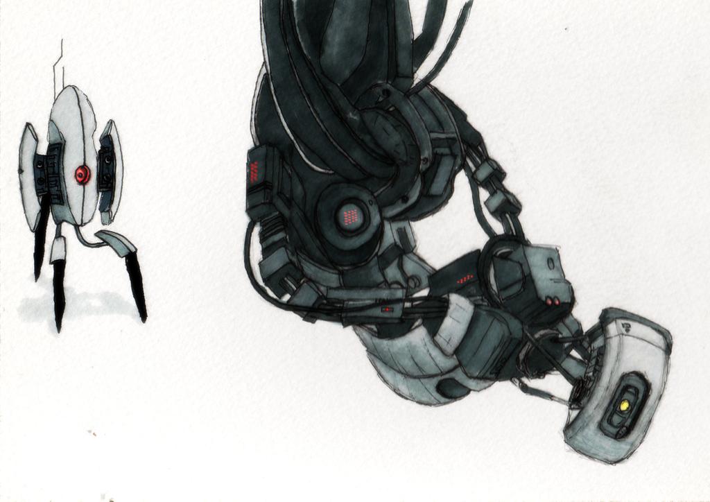 Portal 2 Stuff by Shrinking-Universe
