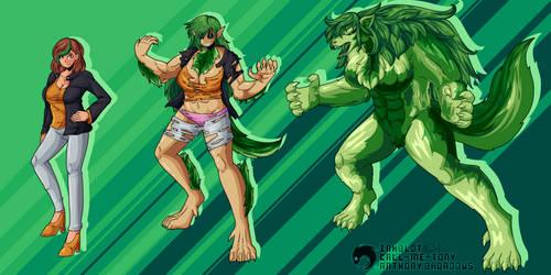 Kaitlin Kaine A.K.A. Kamaria/G-Wolf by CrazyA1