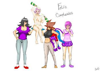 Feliz cumpleanios (atrasados XD ) fotoanimaciones by NekoLeoCruz