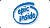 Oots: Epic Inside Stamp