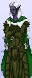 Drizzt by MythicPhoenix