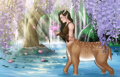 Nature Goddess by MythicPhoenix