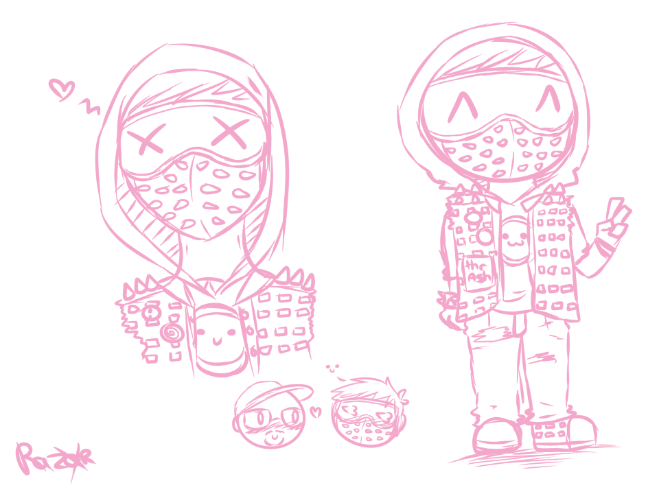 Who To Draw Wrench Watch Dogs
