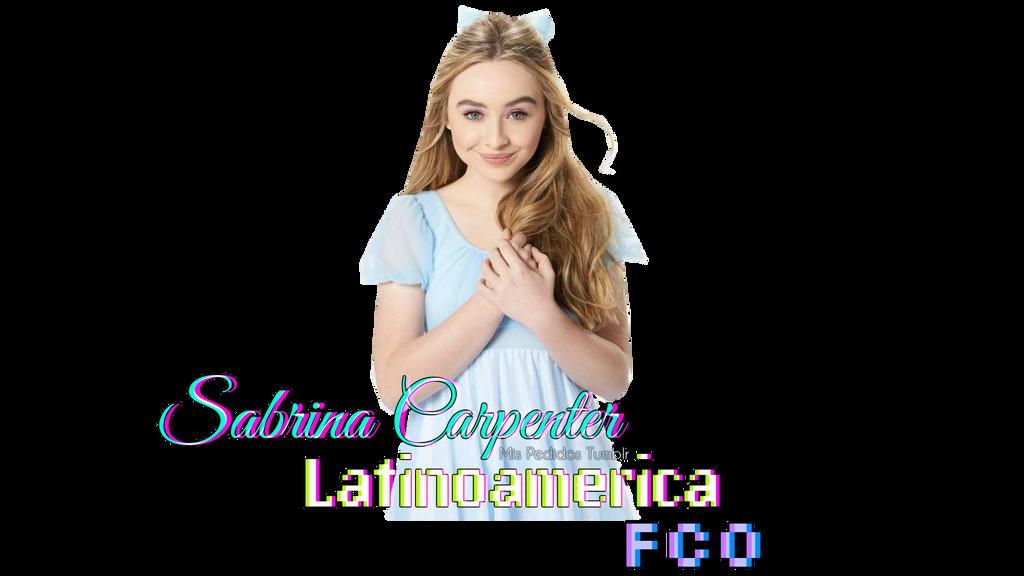 Firma PNG Para Sabrina Carpenter Latinoamerica FCO by MisPedidosTumblr ...