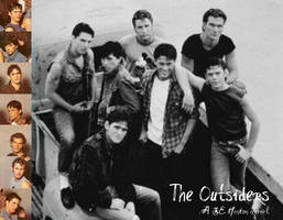 The outsiders Wallpaper by 16AngelWing16