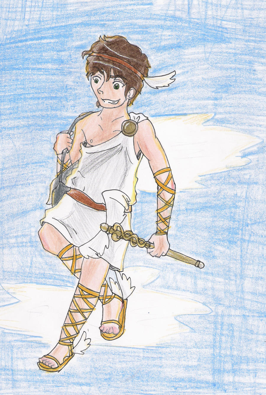 buy hermes - Hermes - Messenger God by 16AngelWing16 on DeviantArt