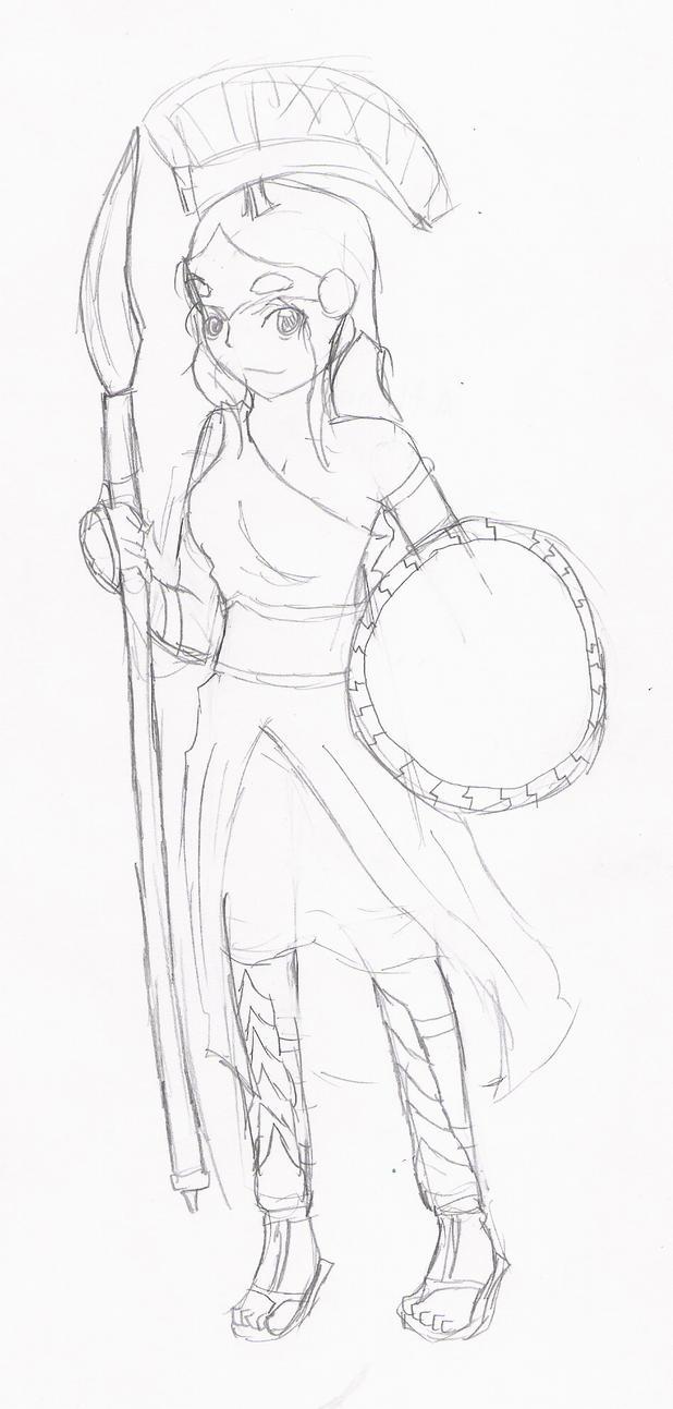 Athena Greek Mythology Drawing Athena Greek Goddess578 x 900