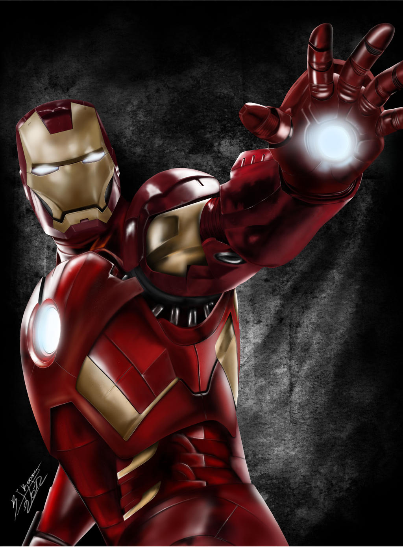 Iron Man! by QuaintArt