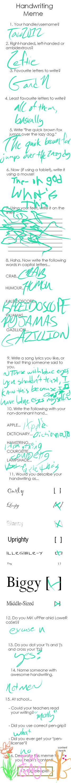 Handwriting Meme by Taco2012