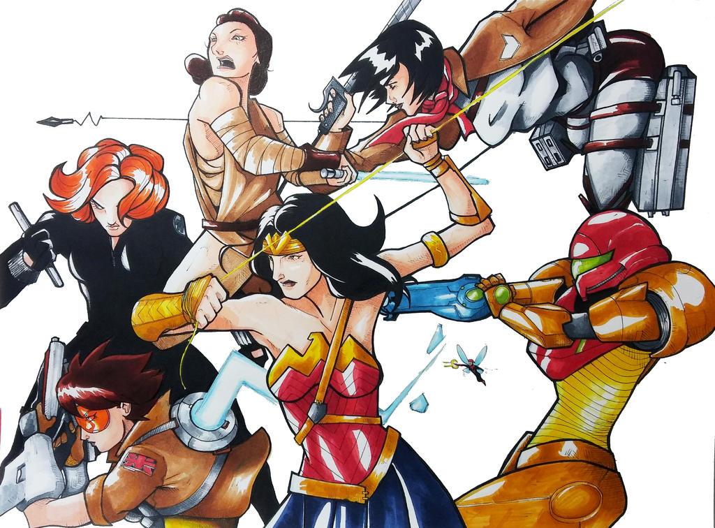 Fight Like a Girl (final version) by GerardoAudelo