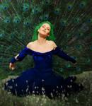 Peacock Madonna by jondee101