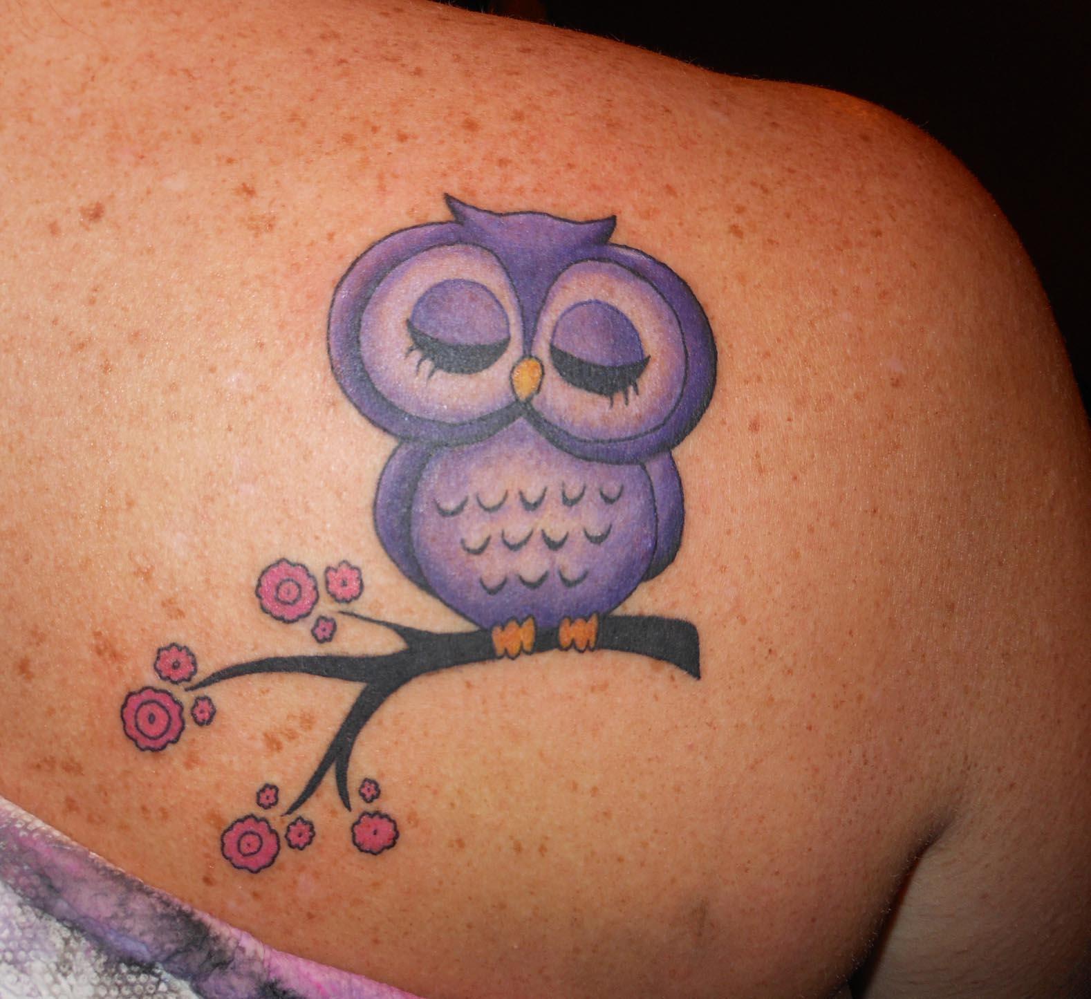 15 Outstanding Owl Tattoos Tattoo Me Now