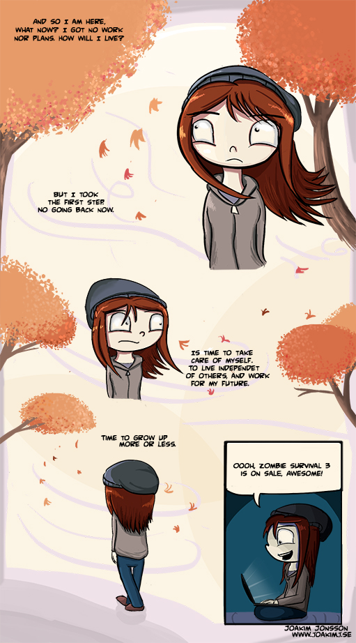 Grow up more or less. by TheSlinker