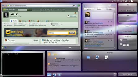 KDE 4.6 Widgets Galore by 42nt1