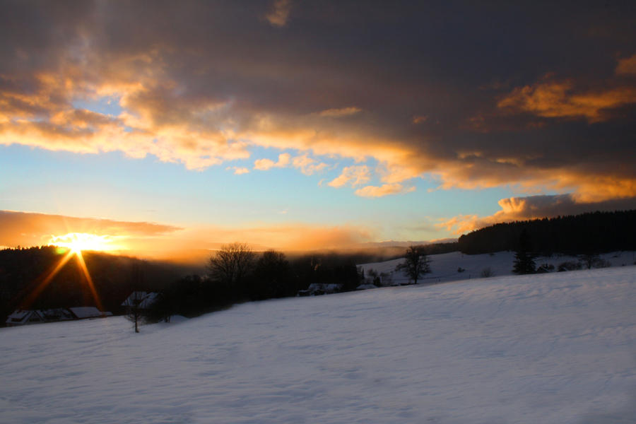 Good night sun by hutzimbl