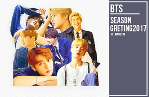 32 l BTS - Season's Greetings 2017 Render Pack by kkkai