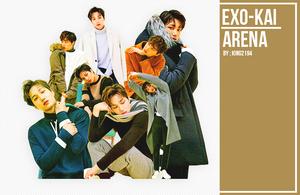 34 l EXO'S KAI - ARENA MEGAZINE Render Pack by kkkai
