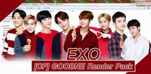 67 / EXO - GOOBNE Render Pack by kkkai