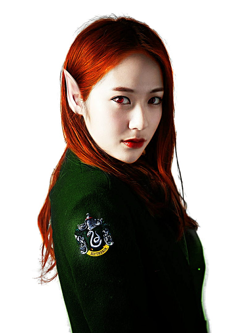 Krystal Jung of Slytherin house PNG by kkkai on DeviantArt