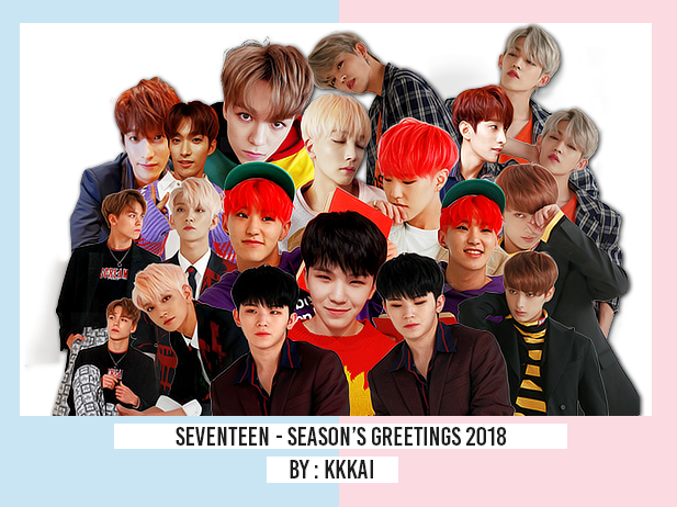 85/ Seventeen-Season's Greetings - PNG Render Pack by kkkai