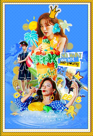 +Seulgi_Mark_Jeno - We hot We young! by kkkai