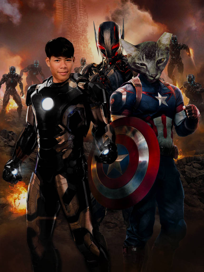 +MAN AND HIS BUDDY_Captain American fried rice by kkkai