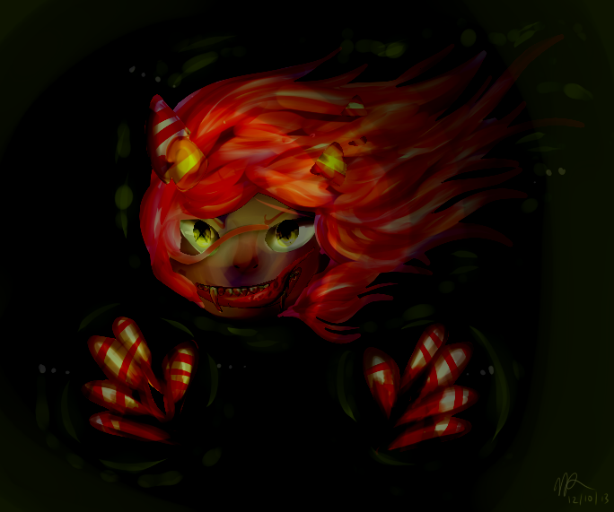 Some of my art <3 Candy_crush_by_marley_butt-d6xljs2
