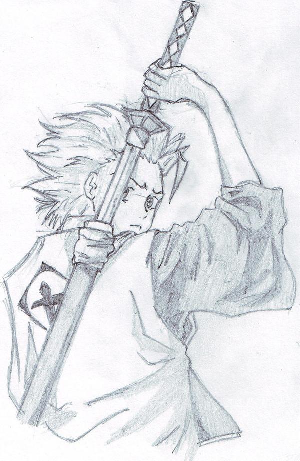 Hitsugaya sketch by FirebendingAngelXD