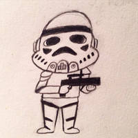 Stormtrooper  by MacaroniandSqueeze