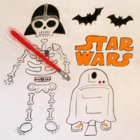 Spoopy Star Wars by MacaroniandSqueeze
