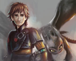 How to train your dragon by AyahYumi