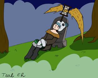 Lonely Grim Reaper Ella by Teal-Eh