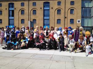 Kingdom Hearts group at London MCM Expo May '12