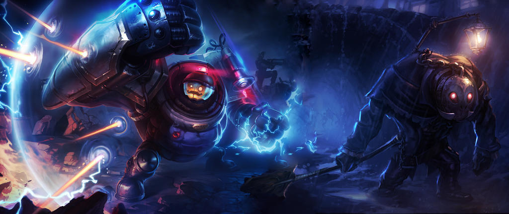 Riot Blitz x Yorick by ipooedtherelol ...