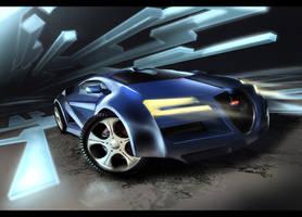 Bugatti 2014 by Dekus