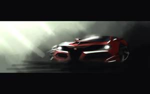 Alfa Romeo Spider concept by Dekus