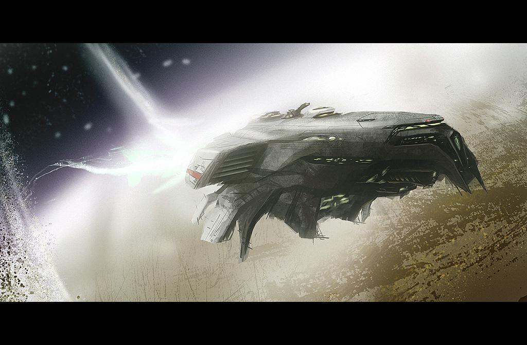 SpearStar frigate by Dekus