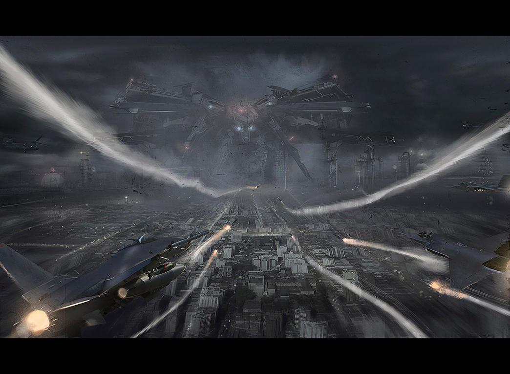 Massive destruction by Dekus
