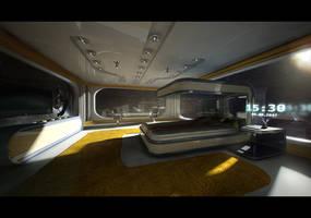 Space hotel v1 by Dekus