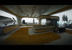 Space hotel v3 by Dekus
