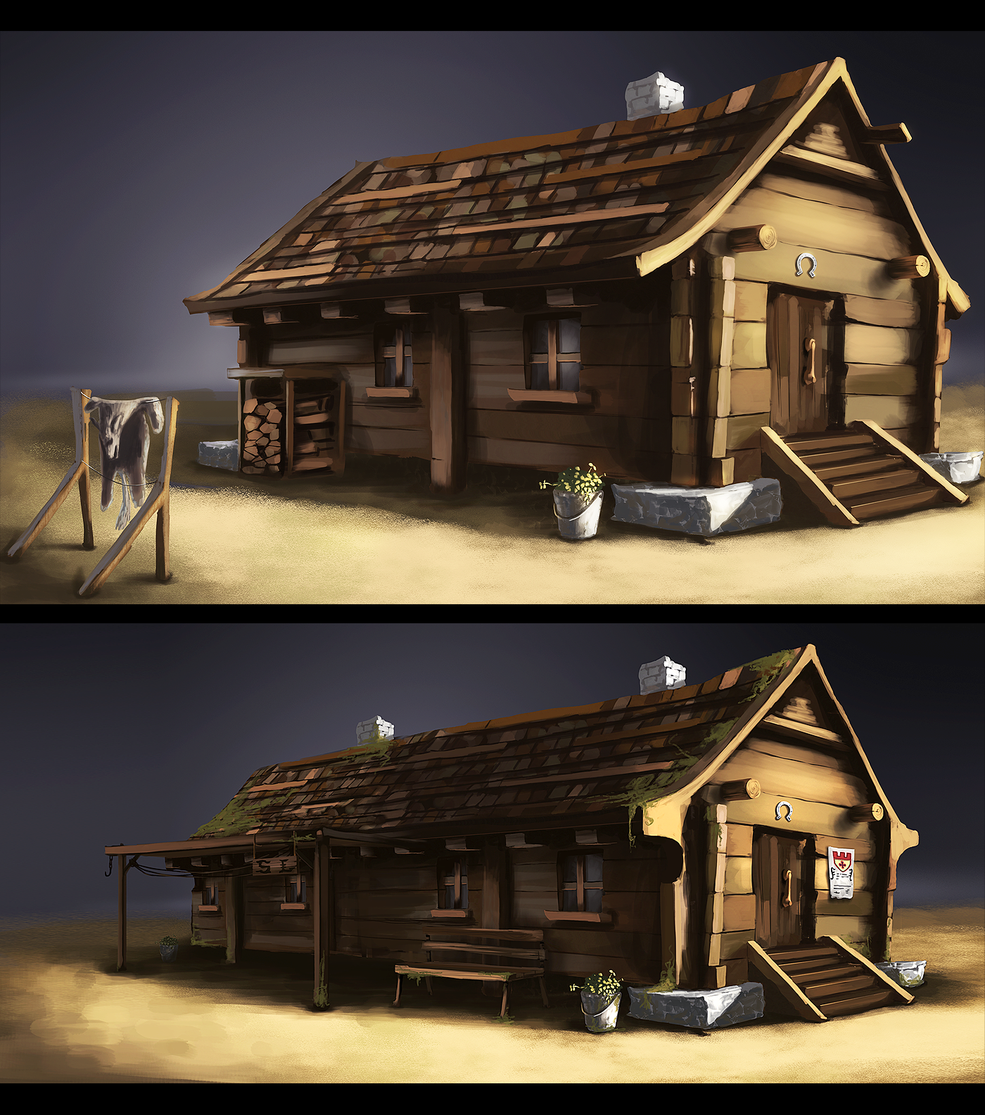 Houses Concept Art By Dekus On Deviantart