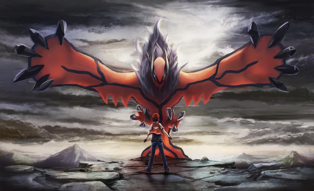 Rise of Yveltal + Red by Dekus