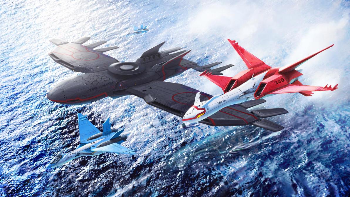 Hoenn region Air Force by Dekus