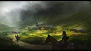 The Vectra village by Dekus