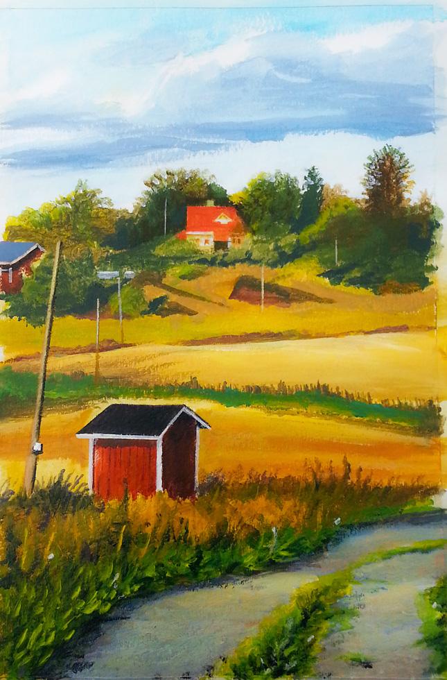 Finland in September by Dekus